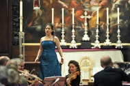 Final concert of HCS, St. George's church, Händel festival, London 2013.