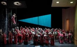 Dejaneira - Hercules, Handel. Oldenburgisches Staatstheater, 2014. Photo: Karen Stuke
