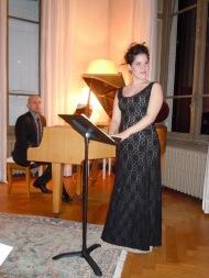 Liederabend in Lyon, 2012.