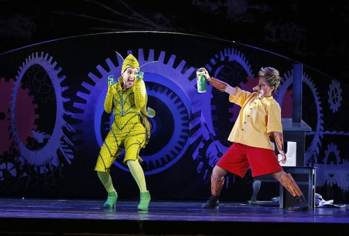 Pinocchio - The adventures of Pinocchio, Dove. Oldenburgisches Staatstheater, 2015. Photo: Karen Stuke.