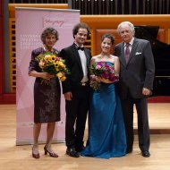 Prize winners concert of the Hugo Wolf competition, Stuttgart 2012.